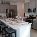 New Homes Meritage Bearss Landing - Model 1 - Kitchen - Coffee with Candis Carmichael