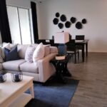 New Homes Meritage Bearss Landing - Model 2 - Living Room-3 - Coffee with Candis Carmichael